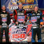 Billy Decker Surges To $20,000 Super DIRT Week Win In 358-Mod Salute The Troops 150